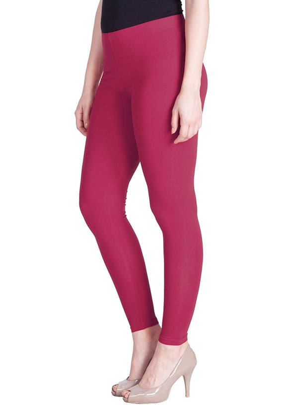 118 Pink Frost Indian Churidar Legging 4Way Strech One Size : Fits All Adults
