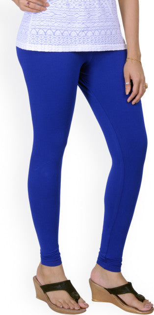 119 Cobalt Blue Indian Churidar Legging 4Way Strech One Size : Fits All Adults