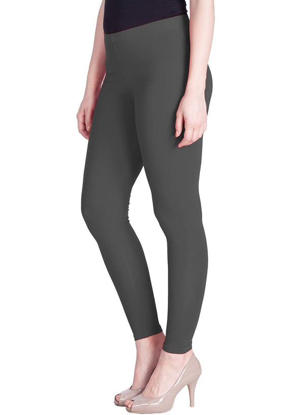121 Smoke Grey Indian Churidar Legging 4Way Strech One Size : Fits All Adults