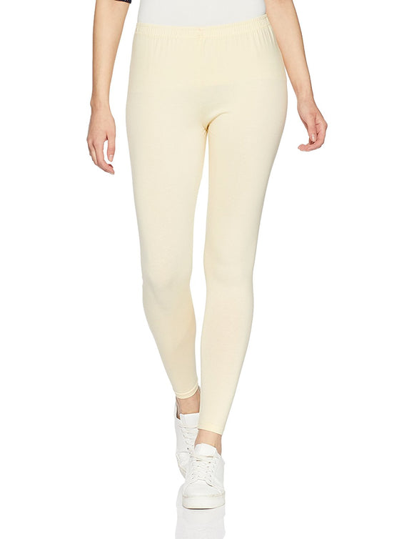 123 Butter Indian Churidar Legging 4Way Strech One Size : Fits All Adults