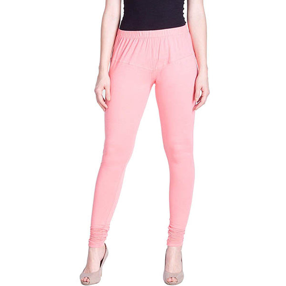 125 M Peach Indian Churidar Legging 4Way Strech One Size : Fits All Adults