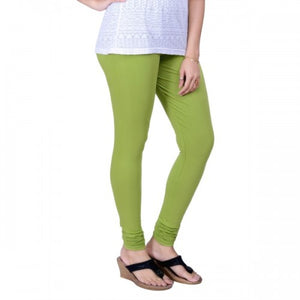 126 Light Green Indian Churidar Legging 4Way Strech One Size : Fits All Adults