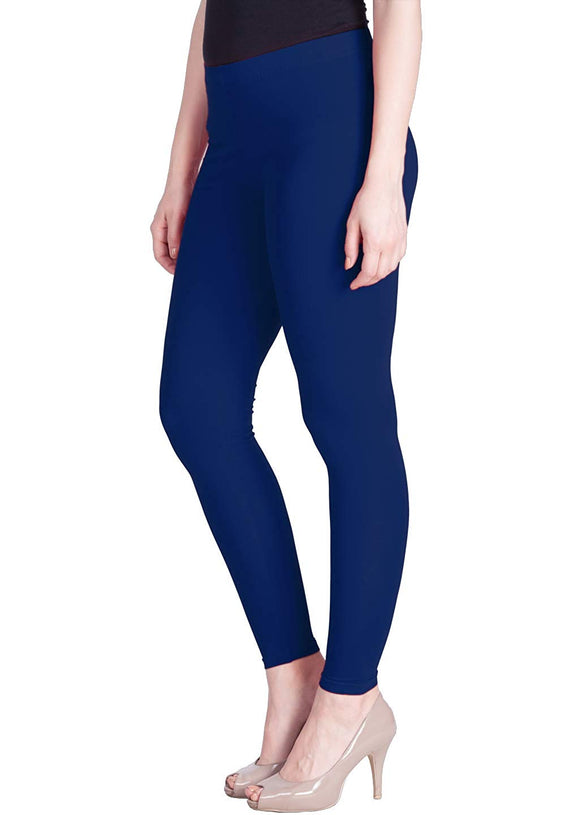 130 Eyptian Blue Indian Churidar Legging 4Way Strech One Size : Fits All Adults