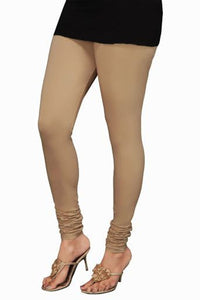 18 Beige Indian Churidar Legging 4Way Strech One Size : Fits All Adults