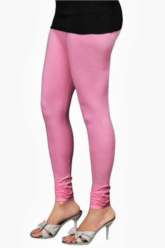 19 Light Pink Indian Churidar Legging 4Way Strech One Size : Fits All Adults