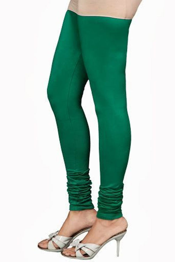 20 Rama Green Indian Churidar Legging 4Way Strech One Size : Fits All Adults