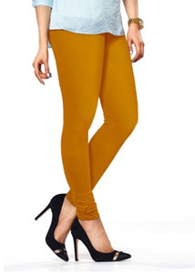 21 Mustard Indian Churidar Legging 4Way Strech One Size : Fits All Adults