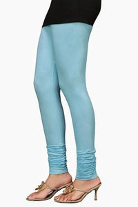 22 Sky Blue Indian Churidar Legging 4Way Strech One Size : Fits All Adults