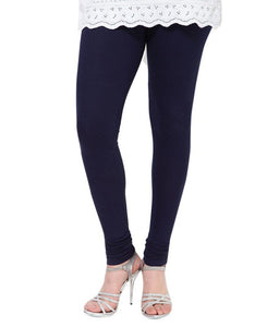 30 Navy Blue Indian Churidar Legging 4Way Strech One Size : Fits All Adults
