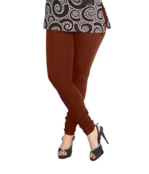 32 Hot Chocolate Indian Churidar Legging 4Way Strech One Size : Fits All Adults