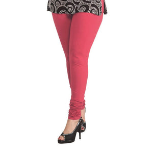 35 Light Fuchsia Indian Churidar Legging 4Way Strech One Size : Fits All Adults