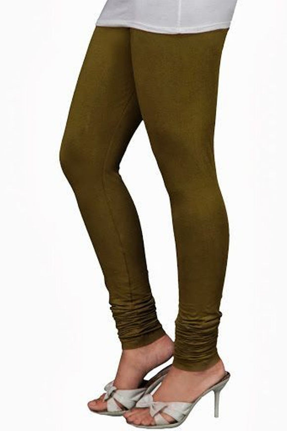 39 Chatni Green Indian Churidar Legging 4Way Strech One Size : Fits All Adults