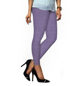 45 Light Lavender Indian Churidar Legging 4Way Strech One Size : Fits All Adults