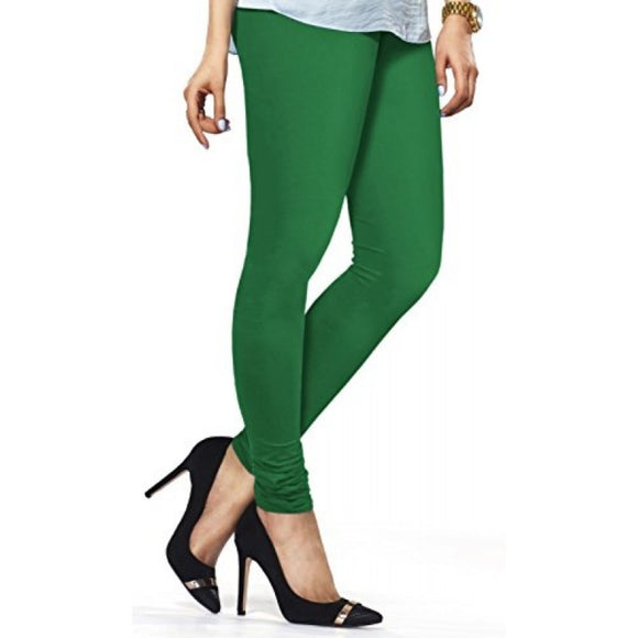 51 Pak Green  Indian Churidar Legging 4Way Strech One Size : Fits All Adults