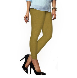 54 Rich Gold Indian Churidar Legging 4Way Strech One Size : Fits All Adults