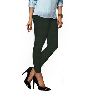 58 Fourleaf Green Indian Churidar Legging 4Way Strech One Size : Fits All Adults