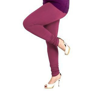 63 Pure Purple Indian Churidar Legging 4Way Strech One Size : Fits All Adults