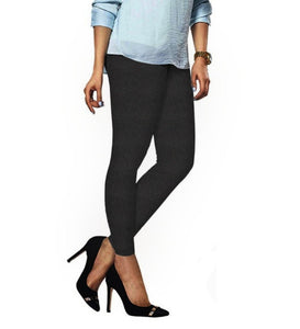71 Charcoal Indian Churidar Legging 4Way Strech One Size : Fits All Adults