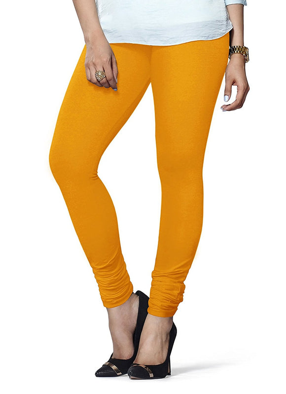 75 Turmeric Indian Churidar Legging 4Way Strech One Size : Fits All Adults