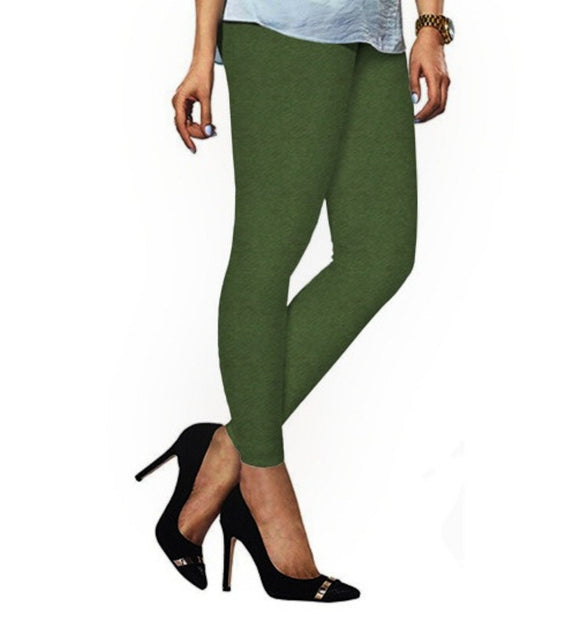 78 Moss Indian Churidar Legging 4Way Strech One Size : Fits All Adults