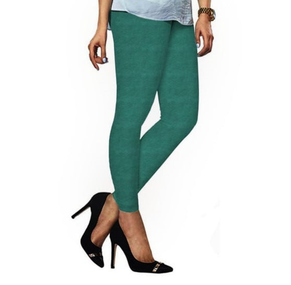 84 Jade Indian Churidar Legging 4Way Strech One Size : Fits All Adults