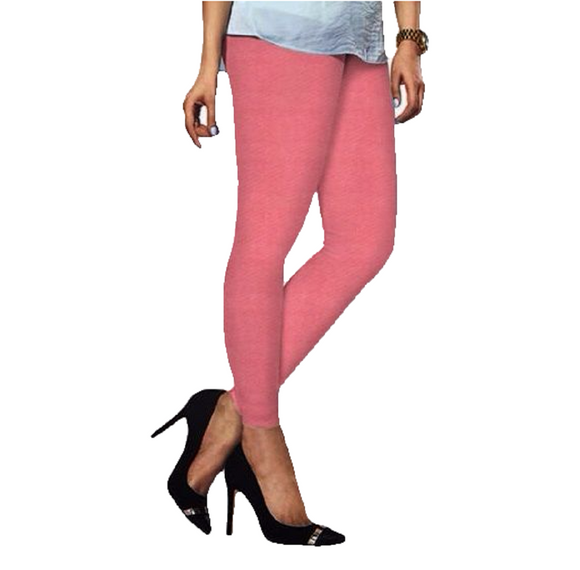 85 Blush Indian Churidar Legging 4Way Strech One Size : Fits All Adults