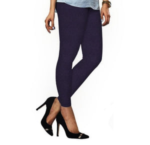 87 Plum Indian Churidar Legging 4Way Strech One Size : Fits All Adults
