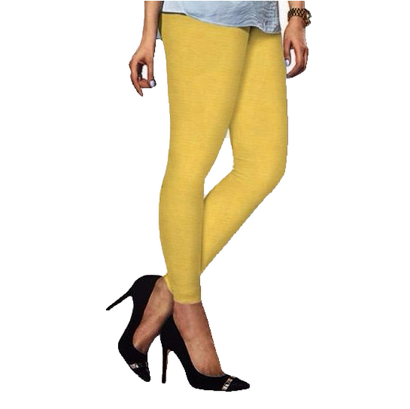 88 Lemon Indian Churidar Legging 4Way Strech One Size : Fits All Adults