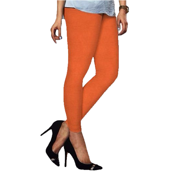 93 Saffron Indian Churidar Legging 4Way Strech One Size : Fits All Adults