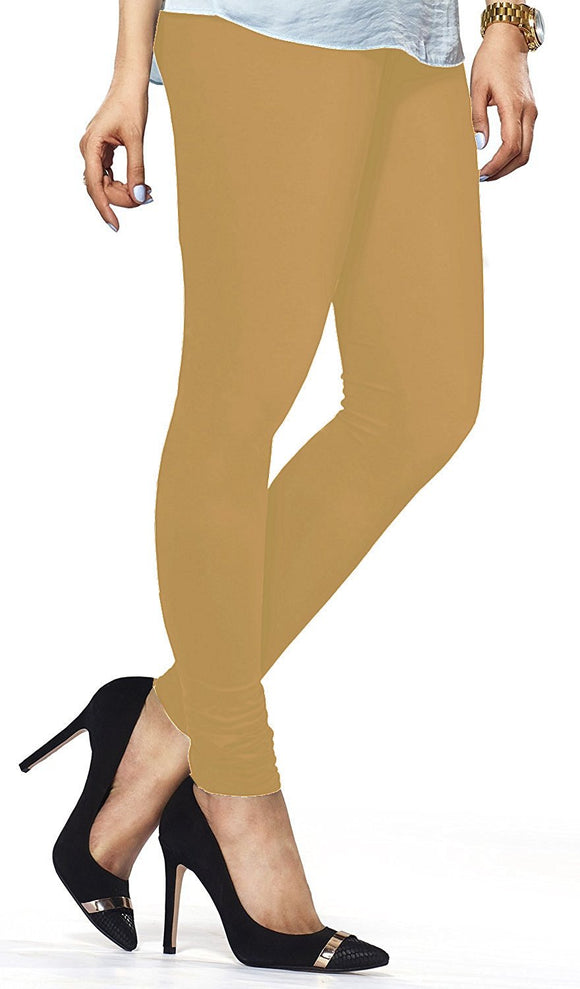 96 Wheat Indian Churidar Legging 4Way Strech One Size : Fits All Adults