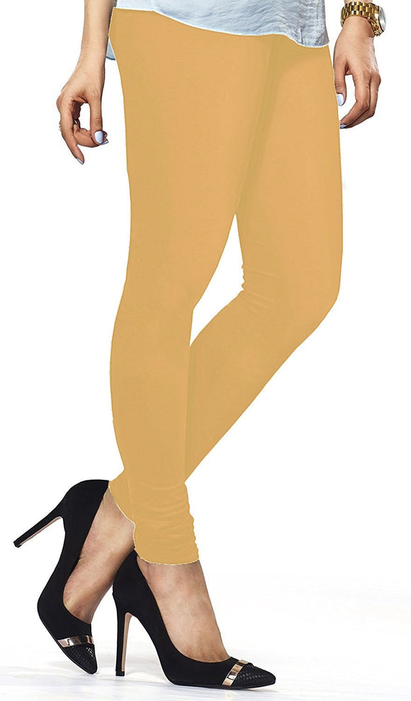 97 Sand Indian Churidar Legging 4Way Strech One Size : Fits All Adults