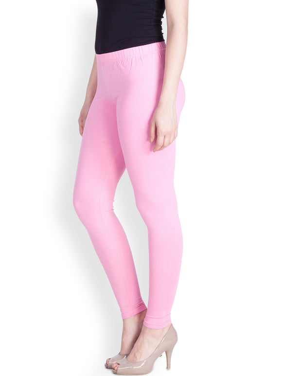 98 Baby Pink Indian Churidar Legging 4Way Strech One Size : Fits All Adults