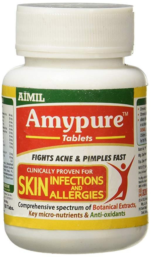 Amypure Tablets: Ayurvedic Medicine for Skin Health