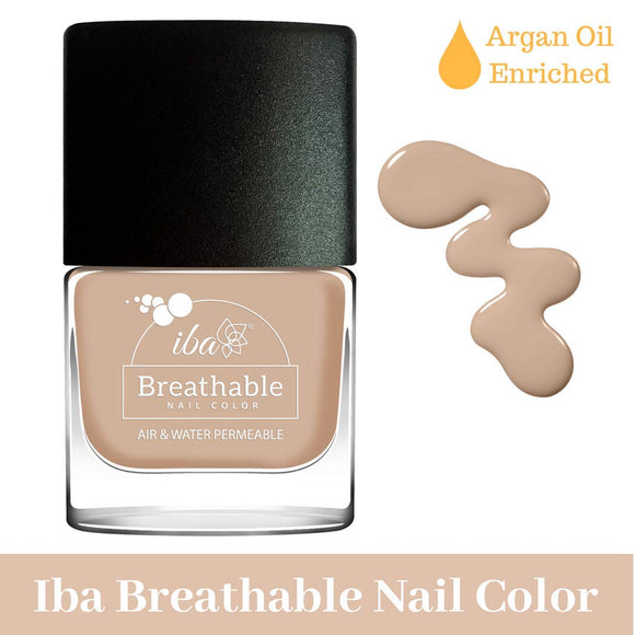 B01 Toasted Almond - IBA Halal Nail Color Polish Breathable Air and Water Permeable Wuzu Friendly