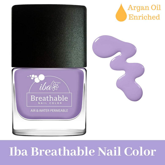 B04 French Lavender - IBA Halal Nail Color Polish Breathable Air and Water Permeable Wuzu Friendly