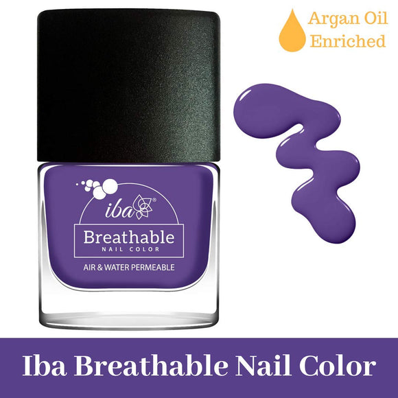 B05 Ultra Violet - IBA Halal Nail Color Polish Breathable Air and Water Permeable Wuzu Friendly