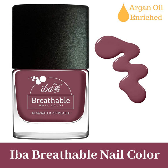B06 Plum Cake - IBA Halal Nail Color Polish Breathable Air and Water Permeable Wuzu Friendly