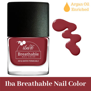 B07 Dusky Pink - IBA Halal Nail Color Polish Breathable Air and Water Permeable Wuzu Friendly