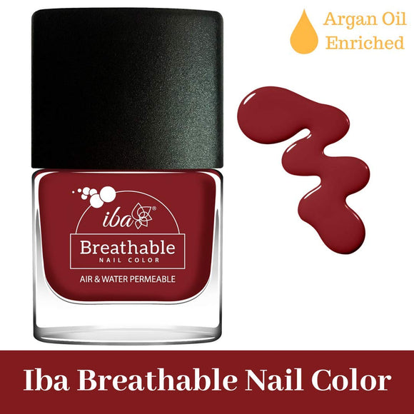 B08 Very Berry - IBA Halal Nail Color Polish Breathable Air and Water Permeable Wuzu Friendly