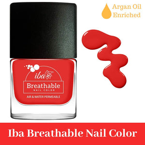 B11 Red Velvet - IBA Halal Nail Color Polish Breathable Air and Water Permeable Wuzu Friendly