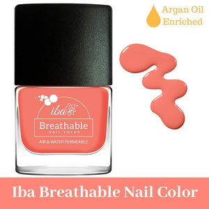B14 Peach Echo - IBA Halal Nail Color Polish Breathable Air and Water Permeable Wuzu Friendly