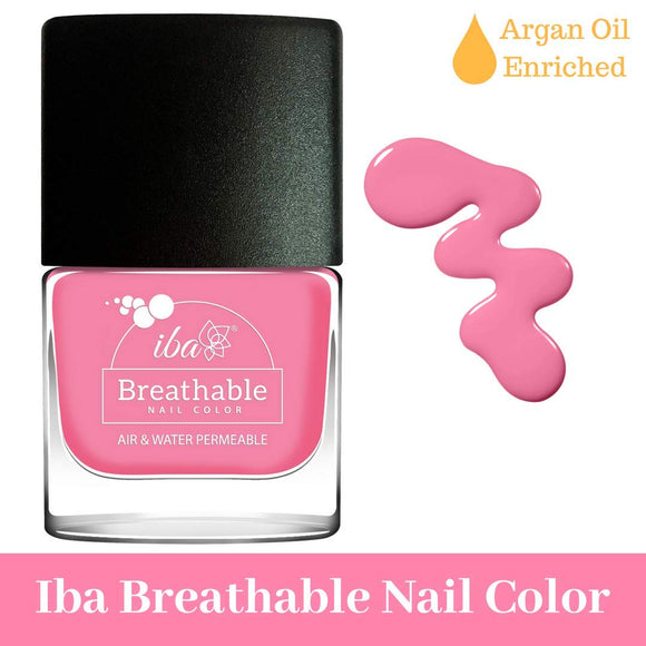B16 Pink Candy - IBA Halal Nail Color Polish Breathable Air and Water Permeable Wuzu Friendly