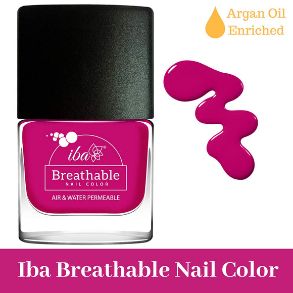 B17 Royal Magenta - IBA Halal Nail Color Polish Breathable Air and Water Permeable Wuzu Friendly