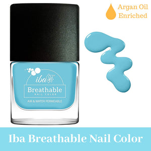 B20 Sunny Beach - IBA Halal Nail Color Polish Breathable Air and Water Permeable Wuzu Friendly