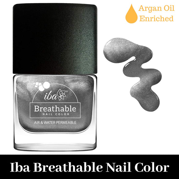 B22 Sparkling Silver - IBA Halal Nail Color Polish Breathable Air and Water Permeable Wuzu Friendly
