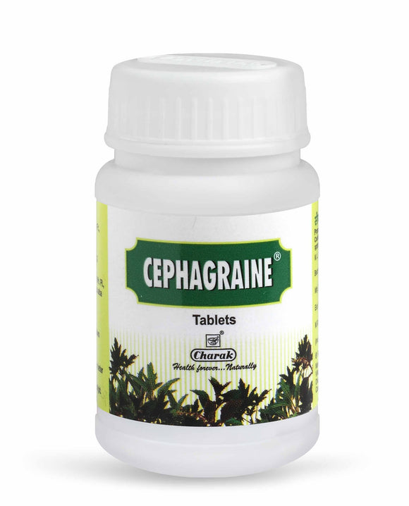 Cephagraine Tablet - The natural therapy for sinusitis and migraine