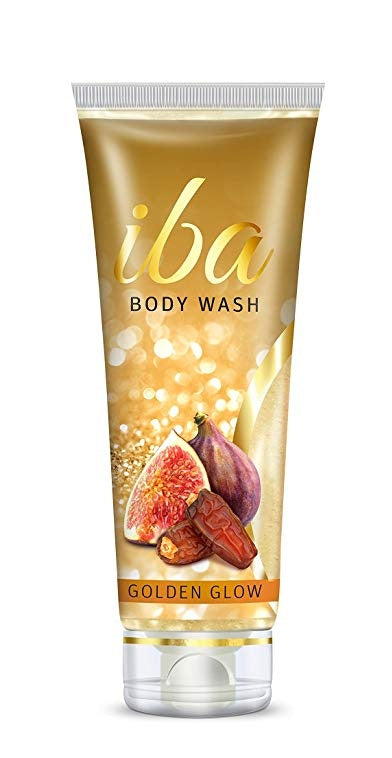 Golden Glow Body Wash Gel Tube - Iba Halal Care