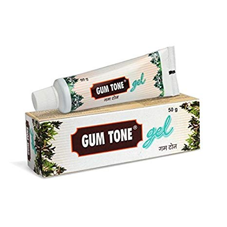 GUM TONE Gel -  An herbal gel for healthy gums