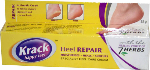 Krack Heel Repair Cream - 25g