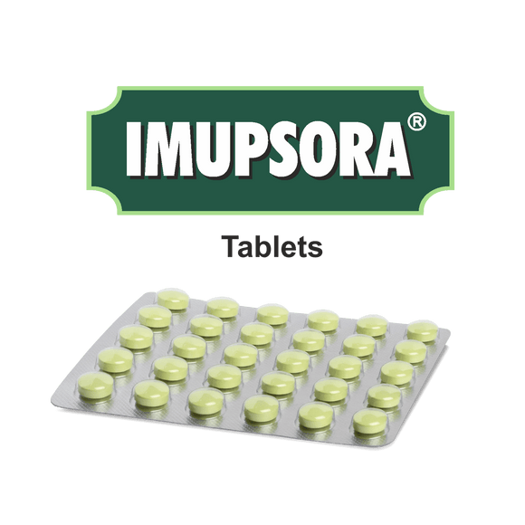 Imupsora Tablet -  A natural approach to the management of psoriasis